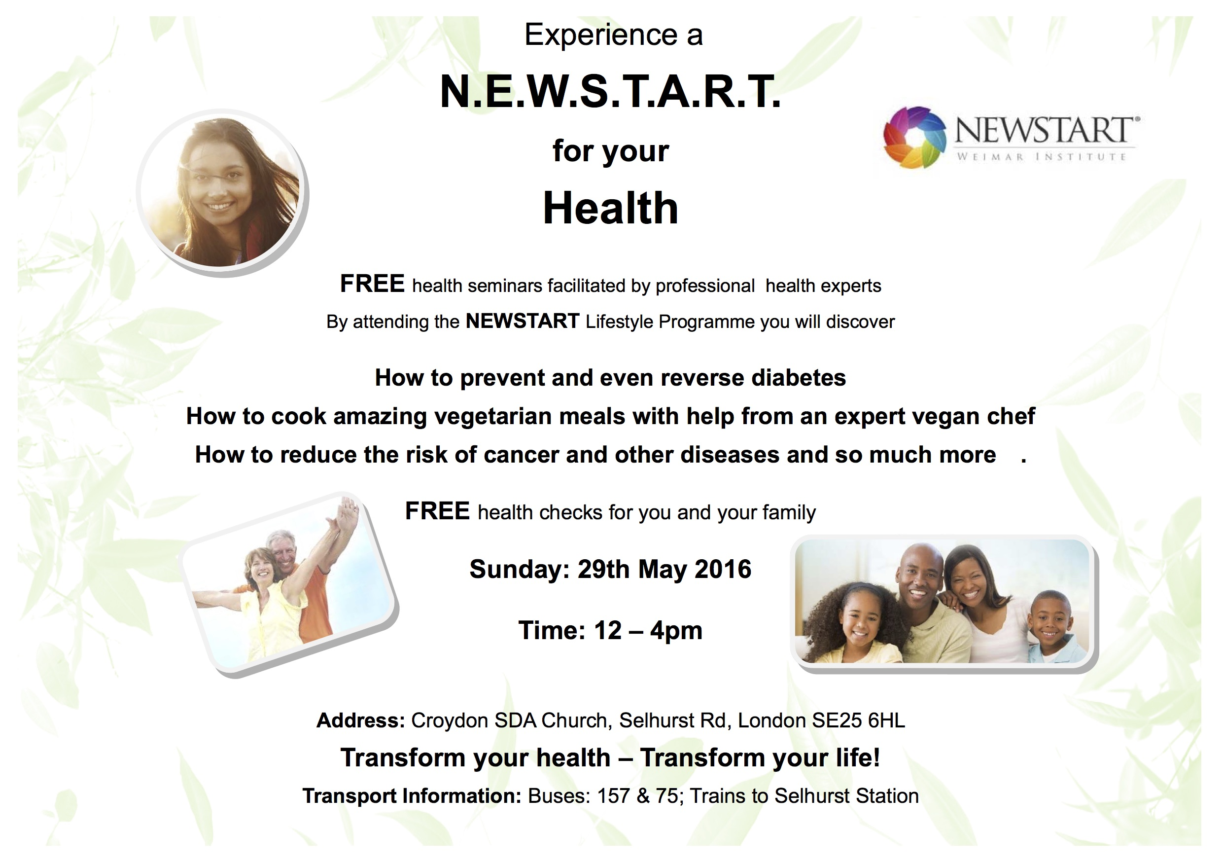 new start for your health poster