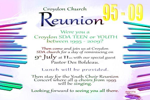 Youth Choir Reunion