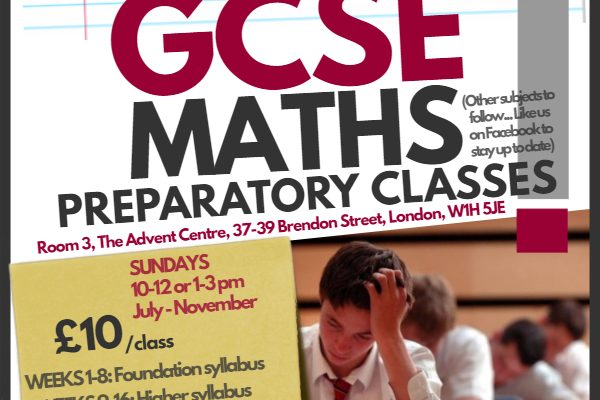 CGSE Maths Tutorial Poster