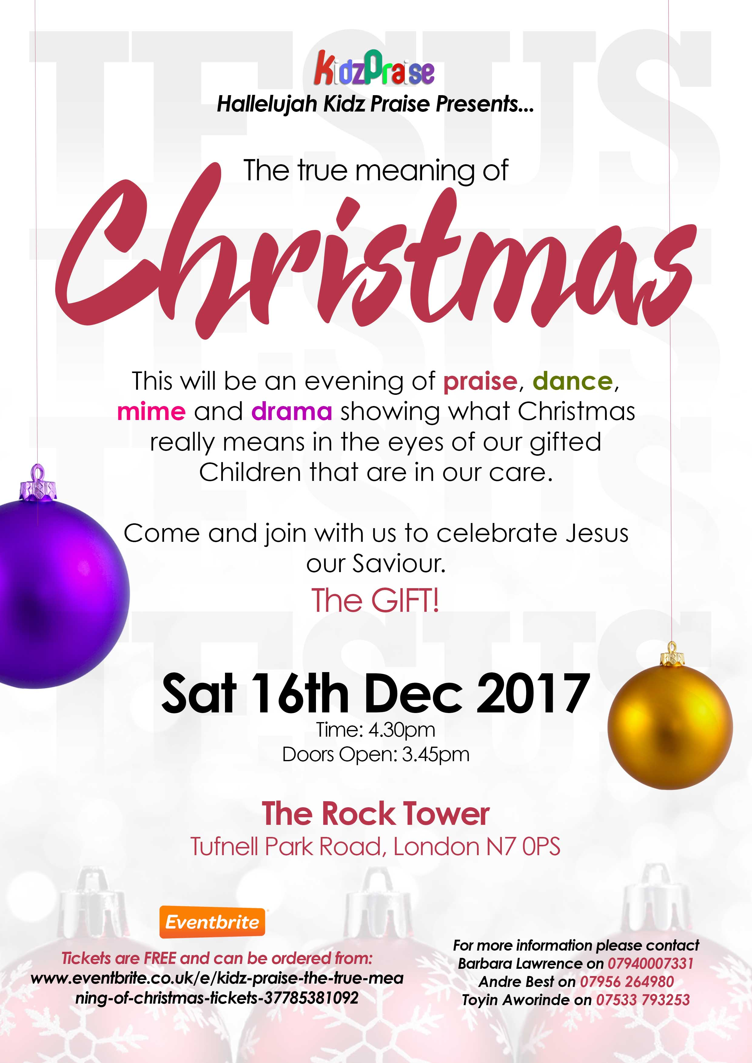 The True Meaning Of Christmas.The True Meaning Of Christmas Croydon Seventh Day