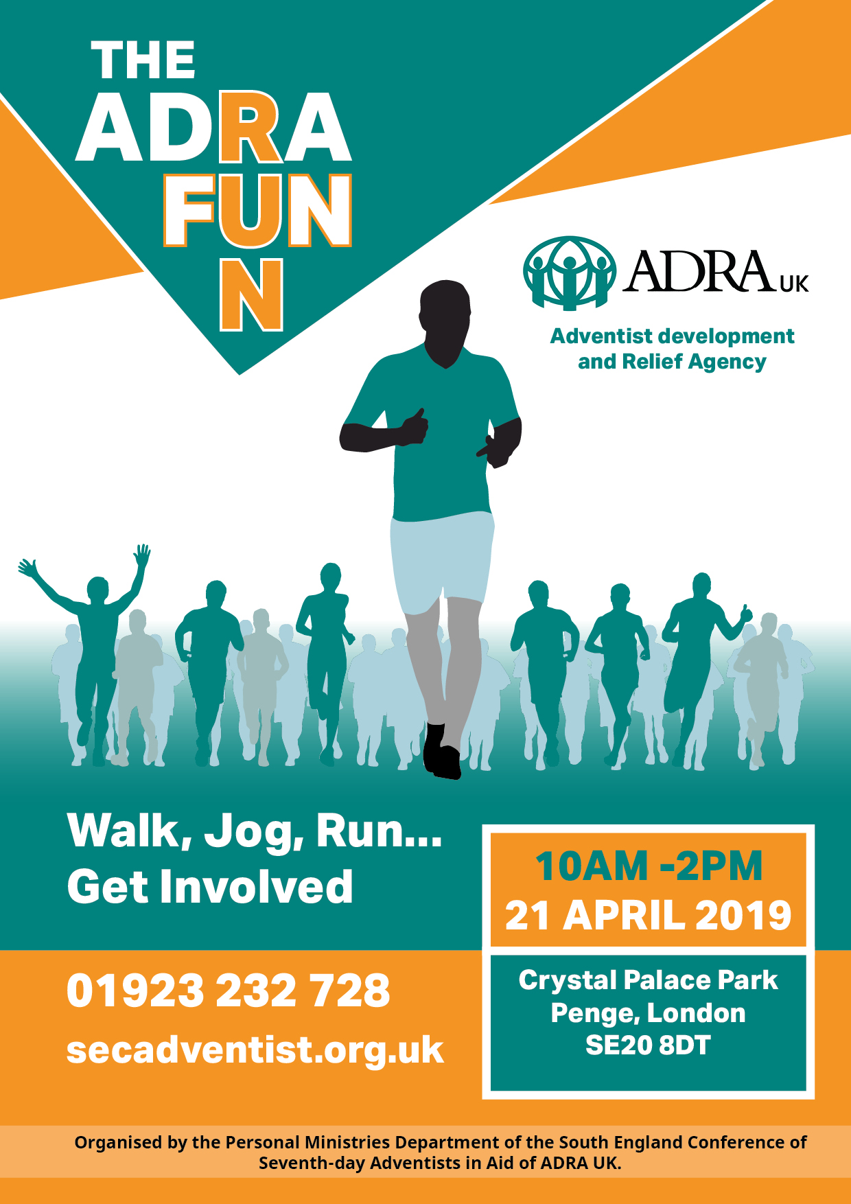 ADRA Fun Run 2019 – Croydon Seventh-day Adventist Church