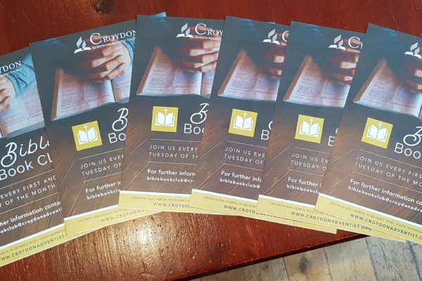 Bible Book Club leaflets